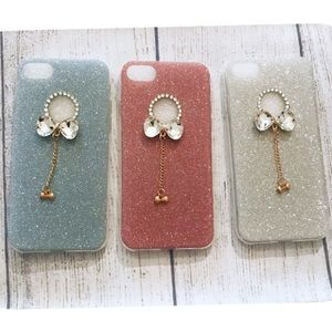 🛍SALE🛍 IPhone 8 Luxury Crystal Bow Glitter Case
